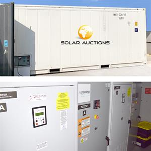 BESS - Energie Container - 500KWh + 250KVA AC output